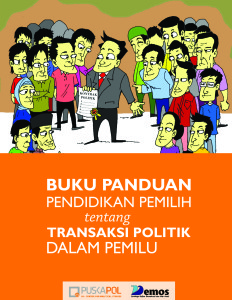 cover buku ppanduan pendidikan pemilih
