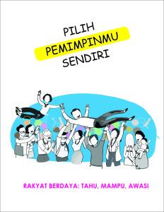 COVER PILIH PEMIMPINMU SENDIRI